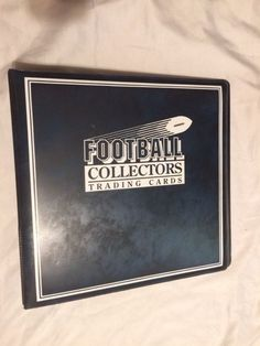 "Ultra Pro 3"" Blue Football Card Album - Playing Trading Holder Binder 3 Ring NEW #UltraPro"