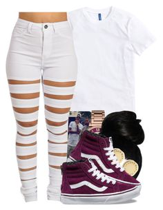 """""""flawless remix -beyonce ft. nicki minaj"""" by pretty-ambi ❤ liked on Polyvore featuring Michael Kors, Marc by Marc Jacobs and Vans"""