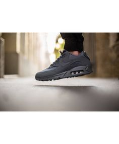 quality design 419b3 9fc35 The Essential edition of the Nike Air Max 90 adds to their lineup with its  latest Nike Air Max 90 Essential Dark Grey release. This Nike AIr Max 90 is  now