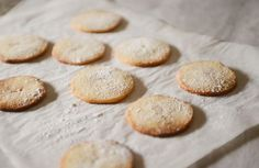 Danish Vanilla Cookies are easy to make and perfect to pair with a glass of milk. | Recipe at Outside Oslo.