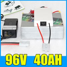 96V 40AH Lithium Battery Pack , 109.2V 4000W Electric bicycle Scooter solar energy Battery , Free BMS Charger Shipping