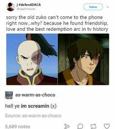 Zuko, my love. yaAAAAAAAAAS
