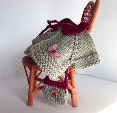 Puppenkleidung-2tlg-Set-Jacke-Handtasche-fuer-ca25cm-Baeren-Puppe-NEU-shabby