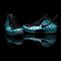"premium selection 6dfe0 8b88b FLIGHT CLUB • Nike Air Foamposite Pro ""Electric Blue"" (at Flight."