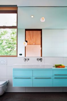 great sink - I like the idea of the very large shallow sink with two separate faucets instead of two whole separate sinks.