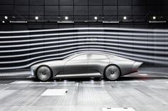"Mercedes-Benz ""Concept IAA"" (Intelligent Aerodynamic Automobile)."