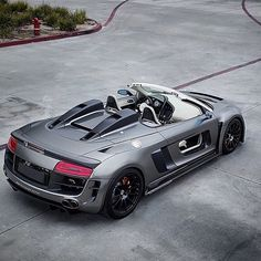 My favourite car in the whole world the Audi R8 Spyder!!!