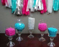 SALE  Candy Jar Candy Dish Candy Buffet Wedding