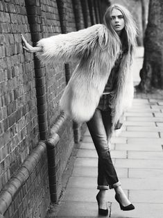 pepe jeans cara fall2 Cara Delevingne Gets Casual for Pepe Jeans Fall 2013 Campaign