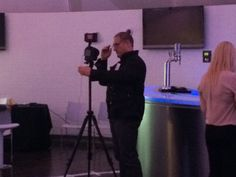 Big Andy, camera man at the EASY Software partner day