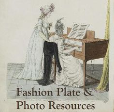 A Frolic through Time: Fashion Plate and Photo Sources...Oh, and Random Patterns, Too