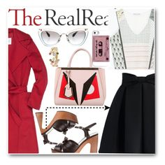 """Jet Set Style With DJ Mia Moretti & The RealReal: Contest Entry"" by anyierojas ❤ liked on Polyvore featuring MaxMara, Zara, Chicwish, Yves Saint Laurent, Fendi, Marco Bicego and Miu Miu"