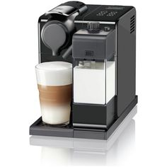 Create your favorite coffee and milk drinks at the touch of a button with the De'Longhi Nespresso Lattissima Touch. Premium design lets you enjoy indulgent barista-style recipes with fresh milk and Nespresso quality coffee right in your home. Latte Macchiato, Espresso Drinks, Espresso Maker, Coffee Drinks, Cappuccino Machine, Coffee Machine, Coffee Maker, Nespresso Lattissima, Machine Nespresso
