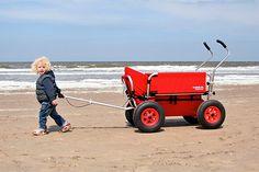 Rambler foldable handcart by Walkingwagon. On my wishlist for my kids :-)