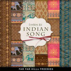 Freebies Fondos Kit - Indian canción