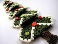sew ritzy~titzy Granny Square Christmas Tree