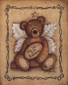 "I Do Believe, Art Print by Mary Ann June, Extra Small (paper size 8"" x 10"")"