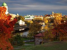 Vyborg, Russia. The best city on Earth for me.