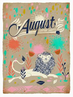Cotton   Steel Collection: August by Sarah Watts