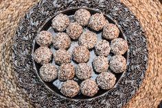 Chokladbollar med pepparkakssmak