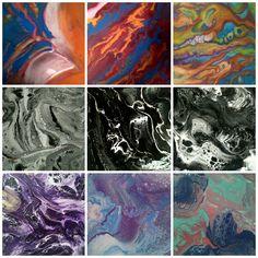 diferentes y ninguno repetido bellos colores vivos en sus diferentes aspectos