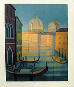 Louis Toffoli Canal à Venise