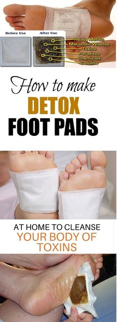 Here's How to Make Homemade Detox Foot Pads to Cleanse Your Body from Toxins Overnight
