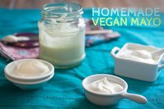 Homemade Vegan Mayo by the PPK! Vegenaise copycat? Yes, please!!!