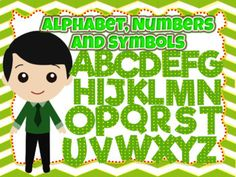 "Green clip arts of the Alphabet, Numbers, and Symbols (Polka dots)100 images of high-quality Green clip arts of the Alphabet, Numbers, and Symbols.Make your TPT products attractive with these green clip arts.  This is also for St. Patrick's Day and Earth Day""."