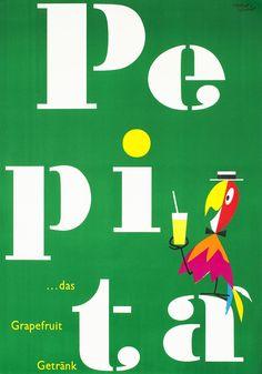 Herbert Leupin Poster: Pepita