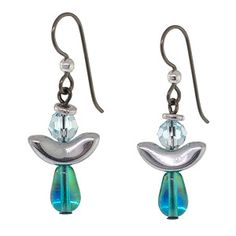 Angel of the Sea Earrings | Fusion Beads Inspiration Gallery