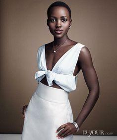 Lupita Nyong'o looking classic.