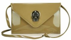 Womens Nude Patent Skull Clutch Evening Bag Purse KCMODE, To BUY or SEE just CLICK on AMAZON right here  http://www.amazon.com/dp/B00A51X06A/ref=cm_sw_r_pi_dp_0L1stb1GKVNH28D9