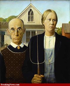 American Gothic Role Reversal