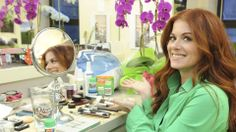 Debra Messing on beauty, work and being a mom