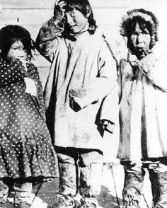 Gwich'in girls in Yukon Territory - no date