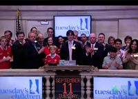 Ringing the NYSE Bell