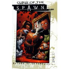 Very Rare!! Curse of the Spawn #27 Return Of Suture, Part 1 - Ghosts - [NM - Bagged & Boarded]