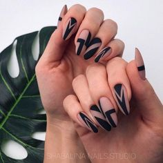 35 Best Spring Nail Art Designs You Must Try - Nails - Nageldesign Cute Spring Nails, Spring Nail Art, Winter Nail Art, Winter Nails, Short Nail Designs, Nail Designs Spring, Cool Nail Designs, Spring Design, Black Nail Art