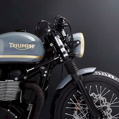 The British manufacturer, Triumph Motorcycle, introduced the latest addition to their scrambler motorbike lineup. Triumph presents the Scrambler 1200 with this Triumph Cafe Racer, Triumph Scrambler, Triumph Bonneville, Triumph Motorcycles, Indian Motorcycles, Cafe Racer Motorcycle, Cool Motorcycles, Vintage Motorcycles, Cafe Bike