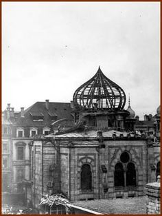 Luxembourg synagogue  in 1945