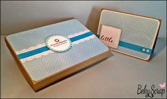 Conjunto caja con tapa y díptico by Beky Scrap