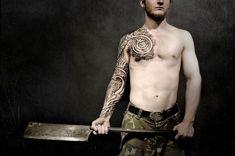 Viking tattoos by Peter Walrus Madsen (DK) - Imgur