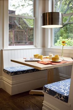 Cole Valley Residence - Breakfast Nook - traditional - Spaces - San Francisco - Gast Architects