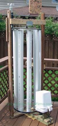 DIY VAWT - Vertical Axis Wind Turbine