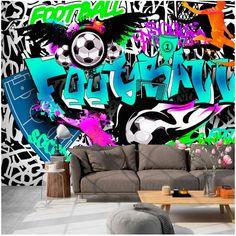 Papier peint photo Papier Peint Photo Graffiti Garçons Art Urbain 1399VE