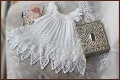 Celestial Christening Gown Crochet Pattern Sizes Newborn, 3 mos, 6 mos, 9 mos, 12 mos. $7.99, via Etsy.