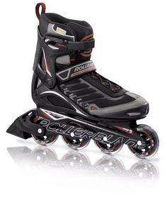 Rollerblade 12 Spiritblade Recreational Skate, Black/Red, US Men's 8 by Rollerblade. $99.99. Save 41%!