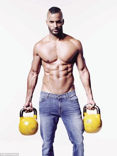 Muscular:Ricky Whittle has given fans a glimpse of the impressively sculpted physique he developed while preparing for his role as the enigmatic and undeniably imposing Shadow Moon in Amazon Prime show American Gods