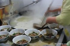 this is the favorite  food in our home town, this food was made by noodle, and very delicious, I can't wait